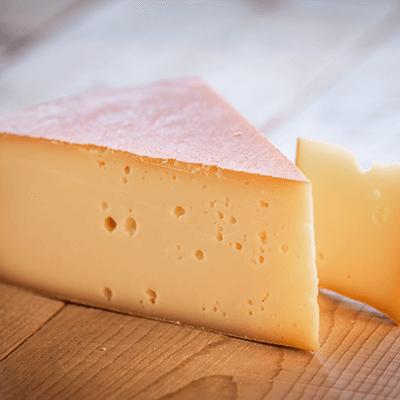 Morceaux de fromage Abondance AOP