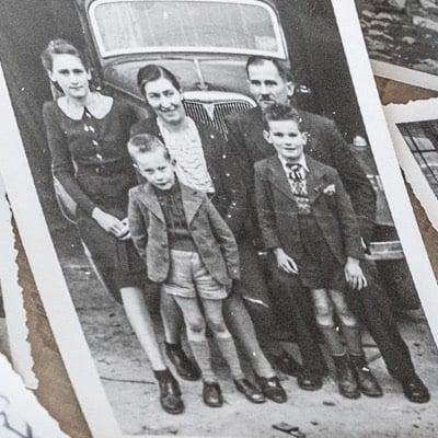 photo ancienne de la famille